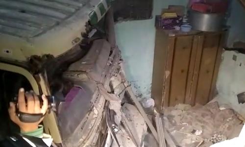 Teenage girl dies as tanker crashes into house in Karachi's Korangi