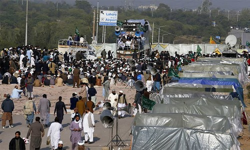Supreme Court takes suo motu notice of Islamabad sit-in