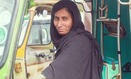 This woman defied stereotypes to become a rickshaw driver and found financial independence