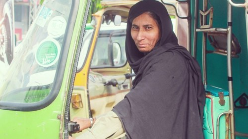 I defied stereotypes to become a rickshaw driver