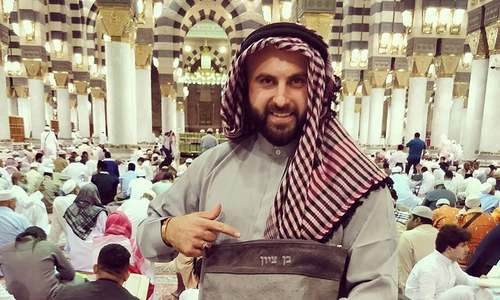 Israeli Jew's Instagram account suspended after Muslims protest photo at Masjid-i-Nabawi