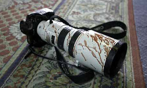 Photojournalists attacked by Faizabad protesters
