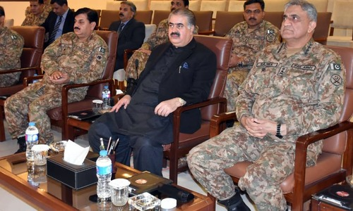 Bajwa says army will support civil govt's initiatives in Balochistan