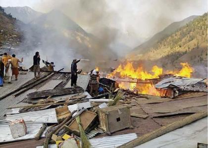 20 injured in Shangla fire