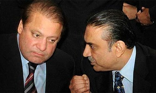 Zardari rebuffs Nawaz Sharif's offer for handshake