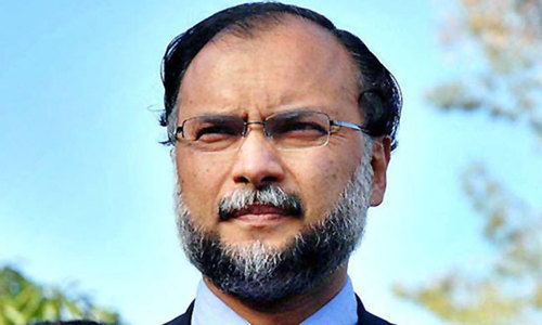 IHC issues contempt of court notice to Ahsan Iqbal for inaction over Faizabad sit-in