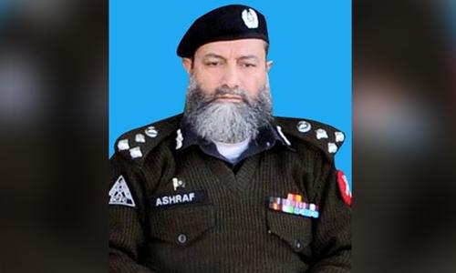 AIG martyred in Peshawar blast targeting police