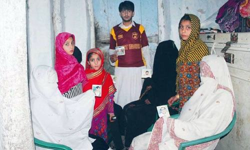 Six years later, wives of abducted Shangla coal miners await their husbands' return