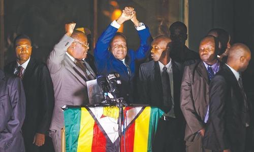 Zimbabweans preparing to greet Mnangagwa as new leader
