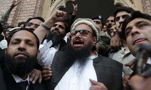 پاکستان، کشمیر کی آزادی کیلئے لڑ رہا ہوں، حافظ سعید