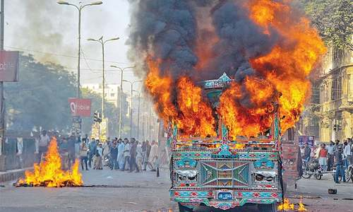 Two buses torched as killing of schoolgirl triggers protest