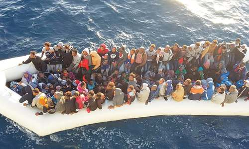31 bodies recovered after migrant boat sinks off Libya