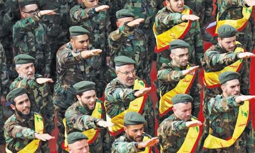 Hezbollah, on the rise in Lebanon, fends off Saudi Arabia