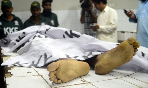 Couple in Karachi killed allegedly on jirga's orders for contracting freewill marriage