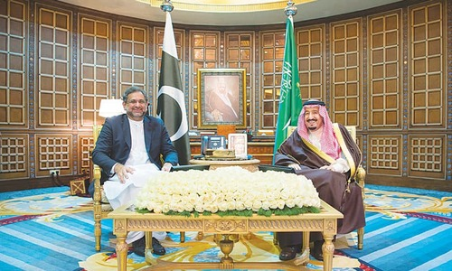 PM assures Riyadh of support in peace efforts