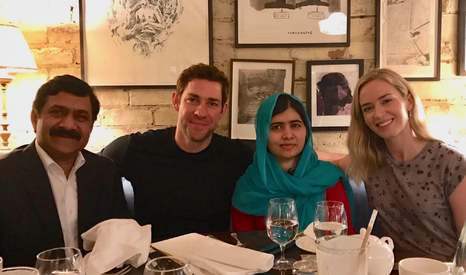These celebs are calling up Malala Fund donors to thank them for their support