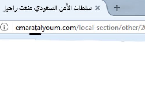 A screenshot of the URL with one changed character leading to the fake news about former COAS Raheel Sharif.