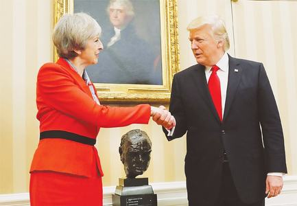 Trump tweets strain US-UK 'special relationship'