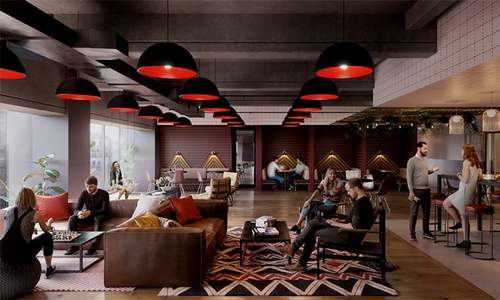 WeWork co-working spaces disrupt office and real estate market