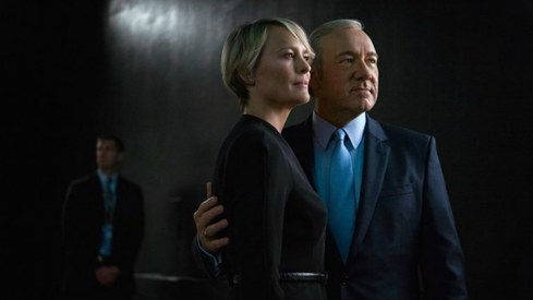 House of Cards will continue with Robin Wright in the lead