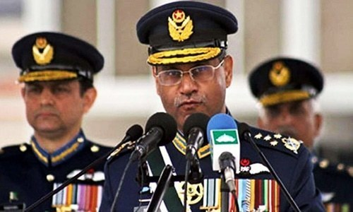 Intruders traced on radar won't be able to go back, warns air chief