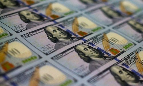 Rupee-dollar exchange rate at Rs107/USD after volatile day