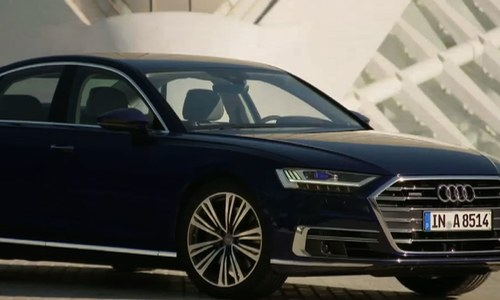 The Audi A8's innovative new features put safety first