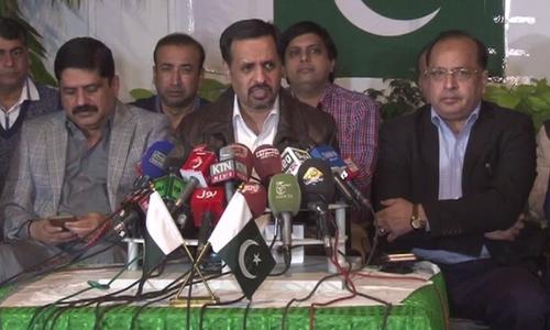 Former MQM-P MNA Salman Mujahid Baloch joins PSP