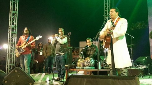 Arieb Azhar, Farhad Humayun and The Pindi Boys made Islamabad's Art Langar a musical treat