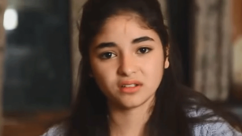 Dangal star Zaira Wasim breaks down after facing harassment on flight