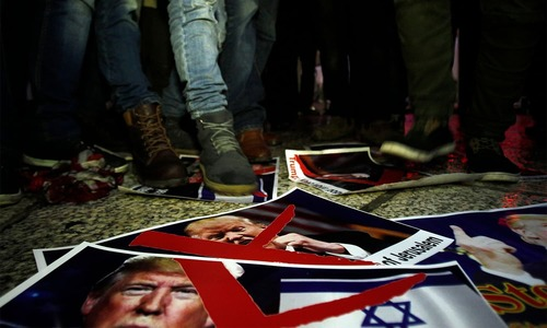 By handing over Jerusalem to Israel, Trump has buried any possibility of a two-state solution
