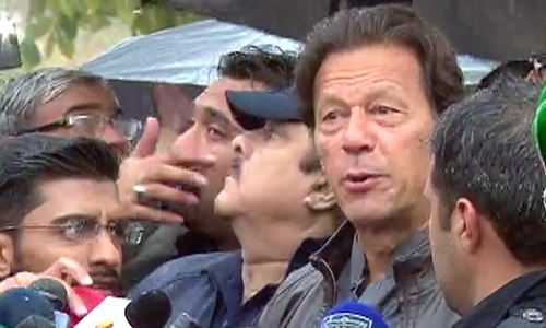 ATC refuses to transfer 2014 PTV attack case against Imran Khan to civil court