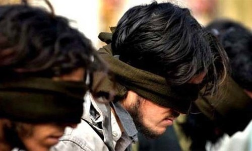 Six 'terrorists' linked to Peshawar ATI attack arrested in KP: sources