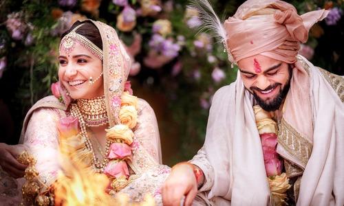 Virat Kohli and Anushka Sharma tie the knot in Italy