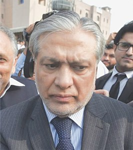 Court declares Dar proclaimed offender