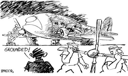 Cartoon: 12 December, 2017