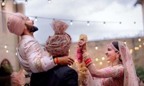 انوشکا اور ویرات کی شادی کی تقریبات پر ایک نظر