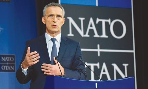 Stoltenberg reappointed as Nato chief