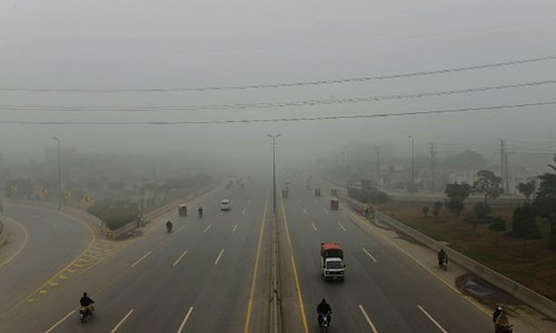Fog may thicken during next four days