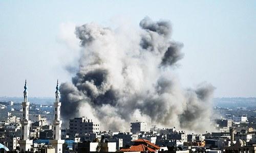 Israel strikes Hamas targets after Gaza rocket fire
