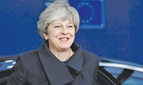 What a difference a year makes —  EU now sees May as its best bet