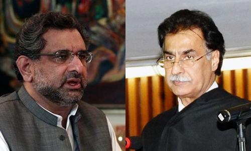 Editorial: Ayaz Sadiq and PM Abbasi are loyal PML-N stalwarts — why are they giving opposite statements?