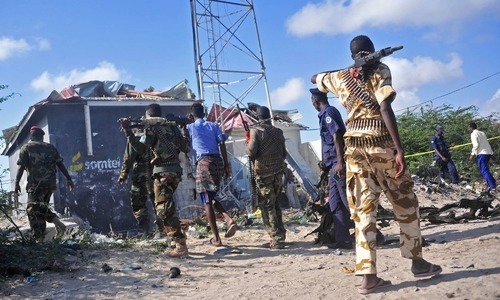 Suicide bomber kills 18 at Somalia's police academy
