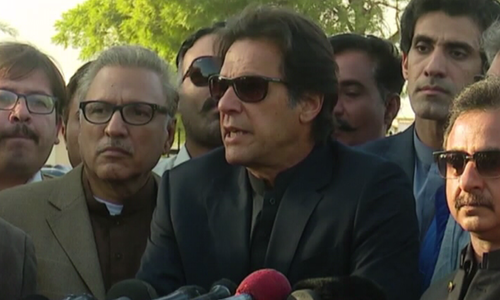 Thank God I was cleared in this fake case: Imran Khan