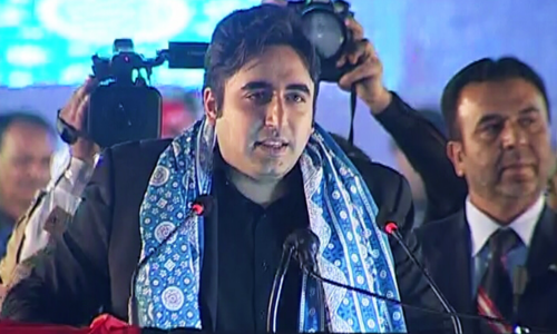 Bilawal promises extensive agricultural reforms during rally in Multan