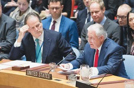 N. Korea must 'earn its way back to table', Tillerson tells UN