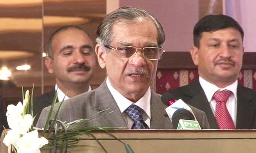 Don't malign the judiciary if verdict comes out against you: CJP hits out at critics