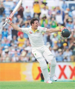 Mitchell completes family hat-trick of Ashes tons