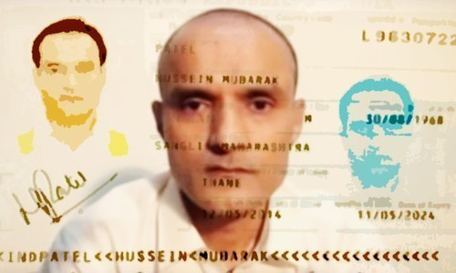 Jadhav family applies for Pakistan visa