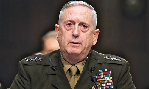 No military offensive against Iran, says Mattis